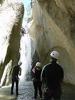 Canyoning in Saklikent Gorge
