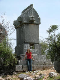 Sarcophagus at Cyaneae