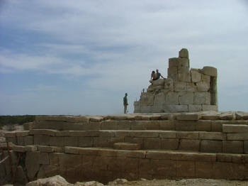 Patara's lighthouse