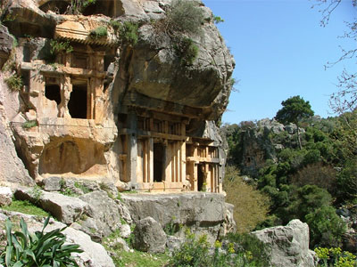 Lycian Turkey - Ancient Site of Pinara, Lycia