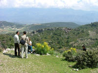 Pinara, overlooking the Xanthos Valley