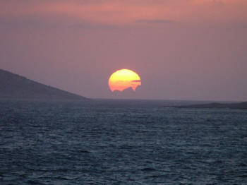 Sunset near Kalkan