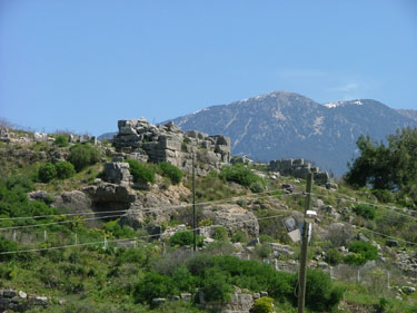 Nereid Monumument base, Xanthos