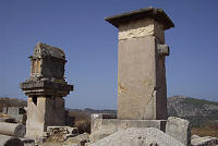 Pillar tombs, Xanthos